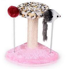 Zabawka dla kota Zabawki dla zwierząt Interaktywne Drapak Drewniany Sznurkowy sizal