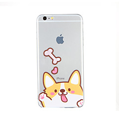 For Pattern Case Back Cover Case Dog Soft TPU for Apple iPhone 6s Plus iPhone 6 Plus iPhone 6s iPhone 6 iPhone SE/5s iPhone 5