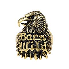 Nauhasormukset Uniikki Logo Tatuointi Vintage pukukorut Metalliseos Animal Shape Eagle Korut Käyttötarkoitus Party Erikoistilaisuus