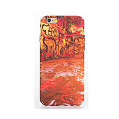 For Lyser i mørket Præget Mønster Etui Bagcover Etui Punk Blødt TPU for AppleiPhone 7 Plus iPhone 7 iPhone 6s Plus iPhone 6 Plus iPhone