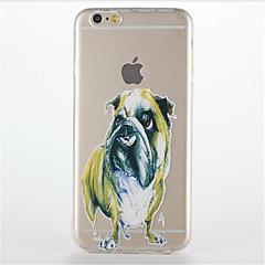 For Transparent Pattern Case Back Cover Case Cartoon Soft TPU For Apple iPhone 7 PLUS 6s 6 Plus SE 5s 5 5C 4 4S