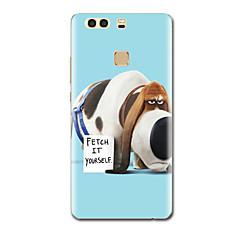 Mert Ultra-vékeny Minta Case Hátlap Case Kutya Puha TPU mert HuaweiHuawei P9 Huawei P9 Lite Huawei P9 Plus Huawei P8 Huawei P8 Lite