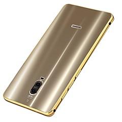 Mert Galvanizálás Case Hátlap Case Egyszínű Kemény Fém mert Huawei Huawei Mate 9 Huawei Mate 9 Pro