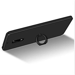 Na Z podpórką Uchwyt pierścieniowy Ultra cienkie Szron Kılıf Etui na tył Kılıf Jeden kolor Twarde PC na Nokia Nokia 6