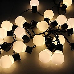 4M  Novelty 20 Led  Globe Connectable Festoon Party Ball String Lamps  For Fairy Wedding Garden Pendant Garland