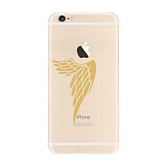 Mert Átlátszó Minta Case Hátlap Case Toll Puha TPU mert AppleiPhone 7 Plus iPhone 7 iPhone 6s Plus iPhone 6 Plus iPhone 6s iPhone 6