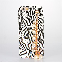 For GDS Etui Bagcover Etui Leopardmønster Hårdt Kunstlæder for AppleiPhone 7 Plus iPhone 7 iPhone 6s Plus iPhone 6 Plus iPhone 6s iPhone