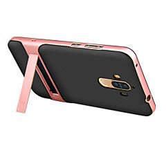 Mert Állvánnyal Case Hátlap Case Egyszínű Kemény PC mert HuaweiHuawei P9 Huawei Honor V8 Huawei Honor 6X Huawei Mate 9 Huawei Mate 9 Pro