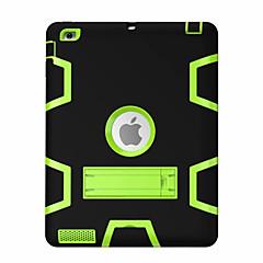 For Stødsikker Med stativ 360° Rotation Etui Heldækkende Etui Geometrisk mønster Hårdt PC for Apple iPad 4/3/2
