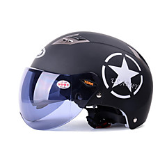 Half Helmet Anti-UV Breathable ABS Motorcycle Helmets