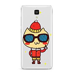 Voor Transparant Patroon hoesje Achterkantje hoesje Cartoon Zacht TPU voor XiaomiXiaomi Mi 5 Xiaomi Mi 4 Xiaomi Mi 5s Xiaomi Mi 5s Plus