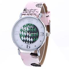 Women Fashion Watch Wrist watch Quartz PU Band Cool Casual Unique Creative Black Brown Grey Pink
