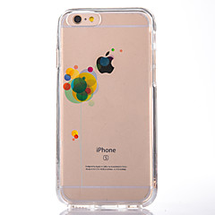 For Transparent Mønster Etui Bagcover Etui Ballon Blødt TPU for AppleiPhone 7 Plus iPhone 7 iPhone 6s Plus iPhone 6 Plus iPhone 6s iPhone