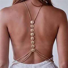 Γυναικεία Κοσμήματα Σώματος Αλυσίδα για την Κοιλιά Body Αλυσίδα / κοιλιά Αλυσίδα Κολιέ κοιλιάς Φιλία Μοντέρνα Πεπαλαιωμένο Βοημία Style
