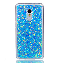 For xiaomi redmi note 4 redmi note 3 pokrowiec na obudowę shockproof tylna okładka case glitter shine soft akryl na xiaomi mi 5