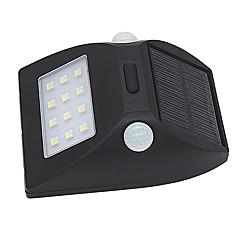 1db napenergia mozgásérzékelő lámpa kültéri IP65 vízálló led érzékelési tartomány biztonsági éjszakai fény automatikus fehér és színes