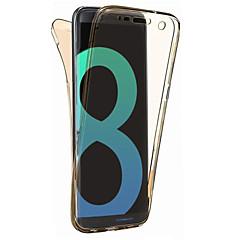 Til samsung galaxy s8 plus s8 dækslet 360 graders altomfattende split tpu materiale blødtui telefon taske s7 kant s7 s6 kant s6 s5