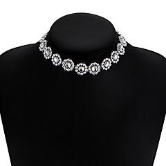 Női Rövid nyakláncok Gyémánt Star Shape Ötvözet Egyedi Bikini Ékszerek Mert Esküvő Parti Napi Hétköznapi 1db