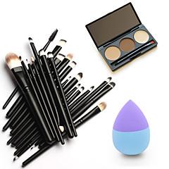 1 Kaşlar Pudra Ponponu/Güzellik Süngeri Makyaj Fırçaları Kuru Yüz Eyes Lips Diğer Çin