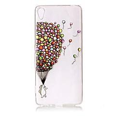 For Sony Xperia XZ Premium XA Case Cover Balloon Pattern Painted Relief High Penetration TPU Material Phone Case XA1 E5