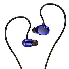 Kz zs2 hifi słuchawki douszne z mikrofonem