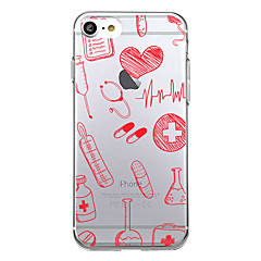 For Etuier Ultratyndt Mønster Bagcover Etui Mosaik mønster Blødt TPU for AppleiPhone 7 Plus iPhone 7 iPhone 6s Plus iPhone 6 Plus iPhone