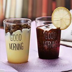 2 kpl lasi kahvi cupmilk kuppi 400ml