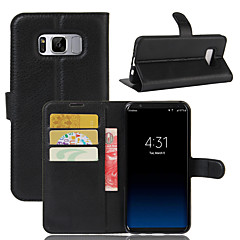 For Card Holder Wallet Shockproof with Stand Case Full Body Case Solid Color Hard PU Leather for SamsungS8 Plus S8 S7 edge S7 S6 edge S6