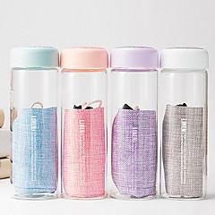 Transparent Juomalasit, 300 ml Kannettava Lasi Vesi Vacuum Cup