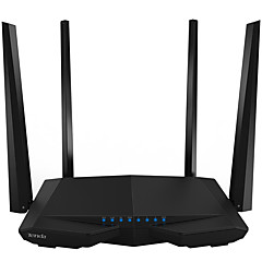 Tenda smart trådløs router 1200mbps dual-band gigabit wifi router ac6