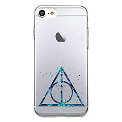 For Ultratyndt Mønster Etui Bagcover Etui Geometrisk mønster Blødt TPU for AppleiPhone 7 Plus iPhone 7 iPhone 6s Plus iPhone 6 Plus