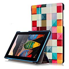 Print hoesje voor lenovo tab3 tab 3 7 essentiële 710 710f tb3-710f tablet met beschermende film