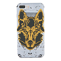 For Apple iPhone 7 7Plus Pattern Case Back Cover Case Dog Hard PC 6s plus 6 plus 6s 6