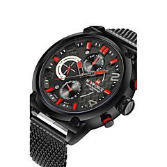 Masculino Mulheres Relógio Esportivo Relógio Militar Relógio Elegante Relógio de Moda Automático - da corda automáticamenteCalendário