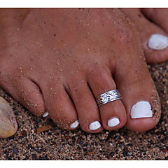 Damskie Biżuteria Pierścionki na palce stóp Postarzane Stop Biżuteria Na Casual 1szt