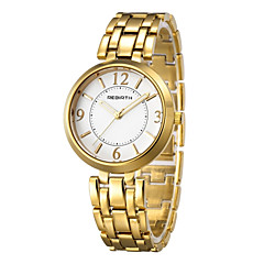 REBIRTH® Women's Fashion Watch Japanese Japanese Quartz / Alloy Band Casual Silver Gold Silver Gold