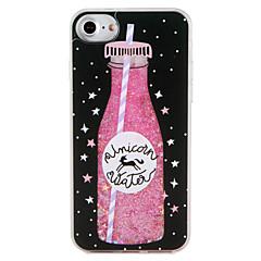 Case  for Apple iPhone 7 7 Plus Unicorn Food Geometric Pattern Glitter Shine  Flowing Liquid Pattern Hard  PC  6s Plus 6 plus 6s 6 5s 5