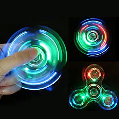 Fidget spinner -stressilelu hand Spinner Lelut Tri-Spinner Metalli EDCStressiä ja ahdistusta Relief Office Desk Lelut Killing Time Focus