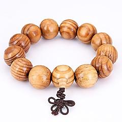 Heren Strand Armbanden Sieraden Natuur Modieus Hout Sieraden Voor Speciale gelegenheden  Sport