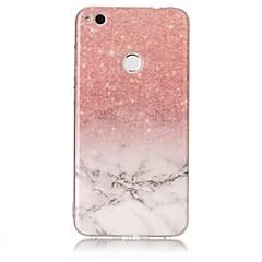 Voor huawei p10 p9 lite case cover marmer patroon tpu materiaal imd craft telefoon hoesje p8 lite (2017)