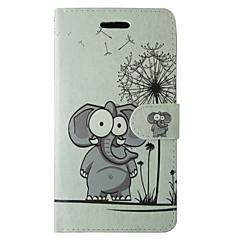 Samsung Galaxy A5 2017 a3 2017 suojus sarjakuva voikukka elefantti koko kehon peitetään kortin ja stand tapauksessa a3 2016 A5 2016 a3 a5