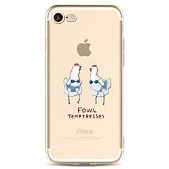 Para el iphone de la manzana 7 7 más 6s 6 más la cubierta del caso patrón de la historieta pintó la alta penetración caso material suave