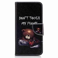 Huawei P10 plusz p10 lite burkolata kártya tartó pénztárca állvánnyal flip-minta esetén a teljes test esetében viselik kemény PU bőr