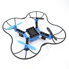 Drone T11 Canal 4 6 Eixos - Iluminação De LED Retorno Com 1 Botão Modo Espelho Inteligente Vôo Invertido 360°Quadcóptero RC Controle