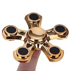 Fidget spinners Hand Spinner Draaitol Speeltjes Speeltjes Ring Spinner Metaal EDC Noviteiten & Fopspeelgoed