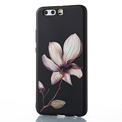 Για huawei mate 8 mate 9 pro κάλυψη περίπτωσης λουλούδι σχέδιο ανακούφιση tpu υλικό τηλέφωνο περίπτωση p10 p9 p8 lite 2017 6x nova v9