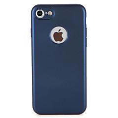 Na Etui Pokrowce Odporne na kurz Futerał Kılıf Solid Color Miękkie Poliuretan termoplastyczny na AppleiPhone 7 Plus iPhone 7 iPhone 6s