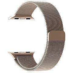 Pętla milanowa na zegarek jabłkowy 38mm 42mm stal szlachetna zegarek wymiany