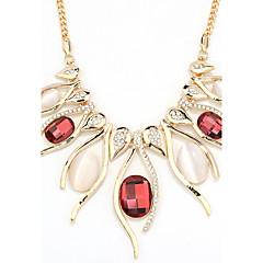 Damskie Oświadczenie Naszyjniki Biżuteria Heart Shape Biżuteria Kryształ Stop Unikalny Modny euroamerykańskiej Biżuteria NaImpreza Inny