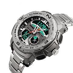 Inteligentny zegarek Wodoszczelny Długi czas czuwania Sportowy Wielofunkcyjne Stoper Budzik Chronograf Kalendarz Dwie strefy czasowe Other